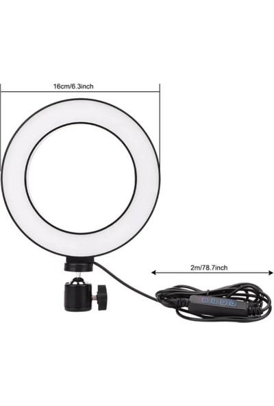 """Kingma Ring Light 6"""" LED Video Işığı"""