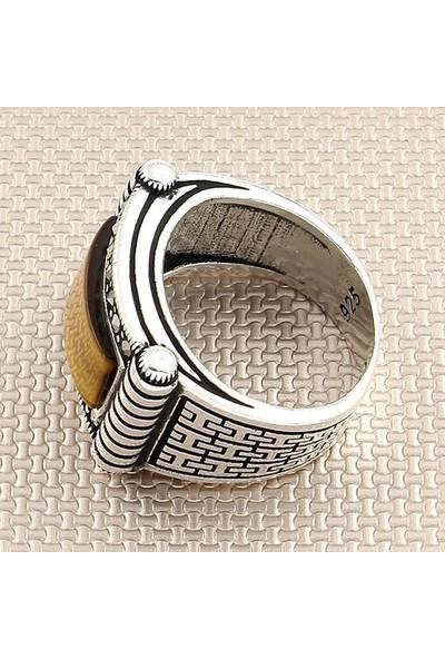 Dampigo MEK-261 Erkek Gümüş Yüzük 10.5 Gr.