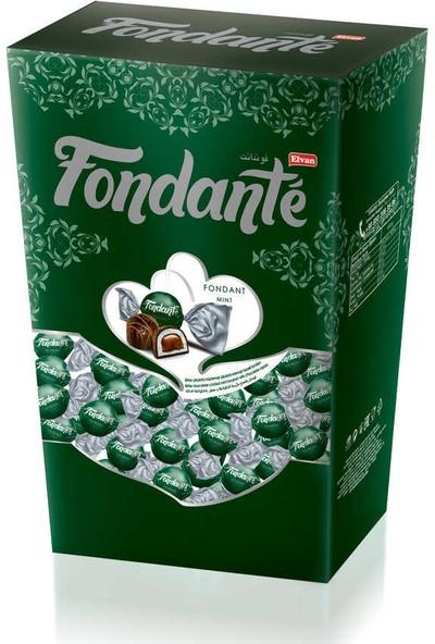 Fondante Naneli ve Çikolata Dolgulu Hediyelik Çikolata 300 gr