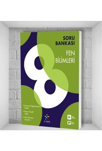 5 Yıldız Yayınları Fen Bilimleri Soru Bankası 8. Sınıf