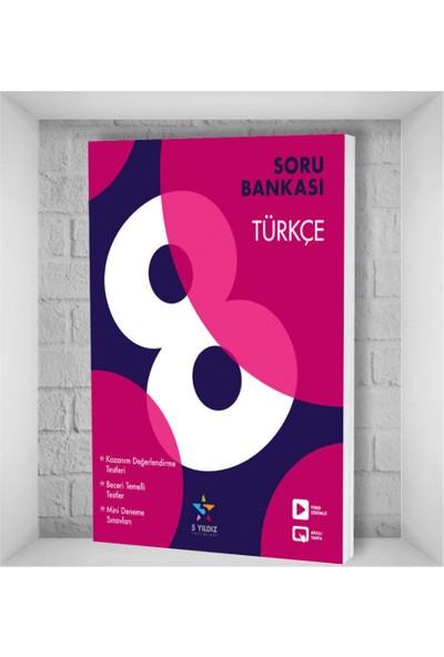 5 Yıldız Yayınları Türkçe Soru Bankası 8. Sınıf