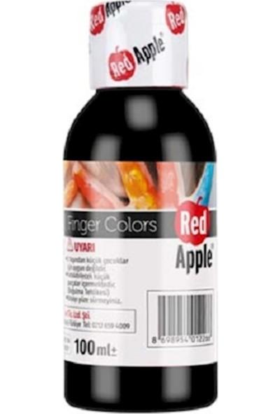 Red apple RP110-16 Parmak Boyası 100 Gram Siyah