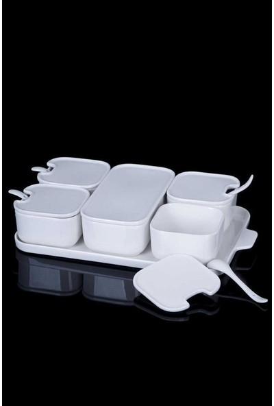 Acar La Pure Porselen 6'lı Kahvaltılık Seti