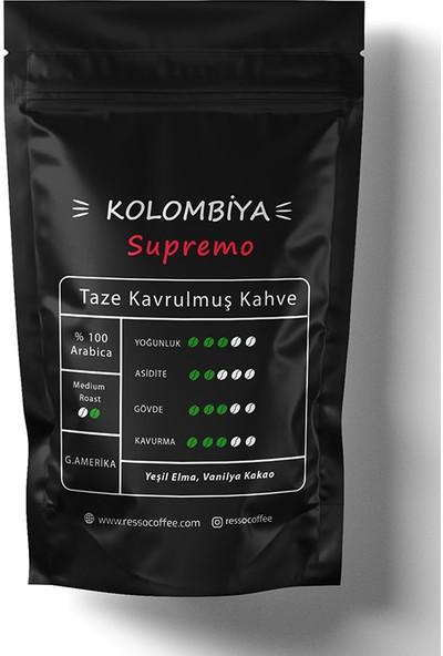 Resso Coffee Kolombiya/supremo (French Press) Öğütülmüş Kahve 250 gr