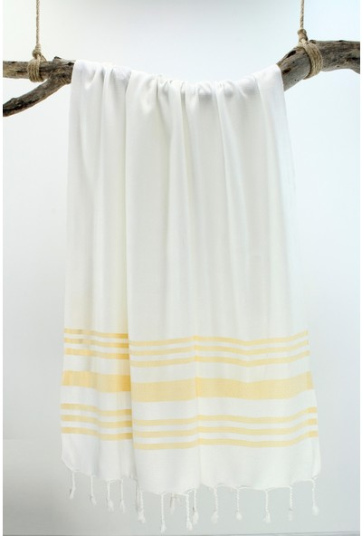 Bedinn Peştemal Bambu Petek Sarı