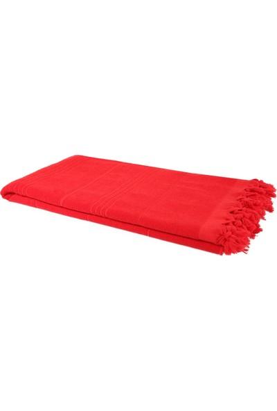 Bedinn Peştemal Havlu Kırmızı