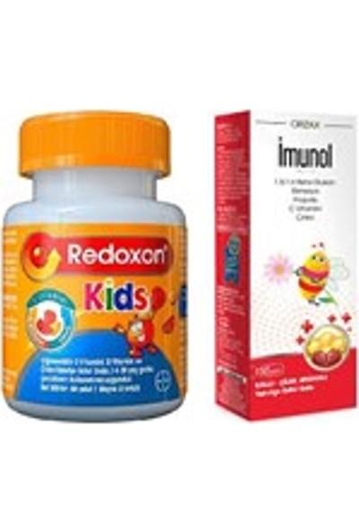 Redoxon Kids+Imunol Şurup
