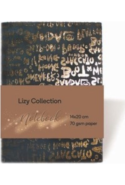 Lizy Collection Notebook 14 x 20 cm