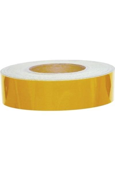 Cekasan 4 cm x 2,5 mt Sarı Fosfor Şerit