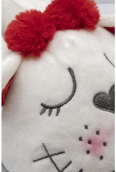 Twigy RR0554 Tw Dreamer Beyaz Kışlık Kadın Panduf
