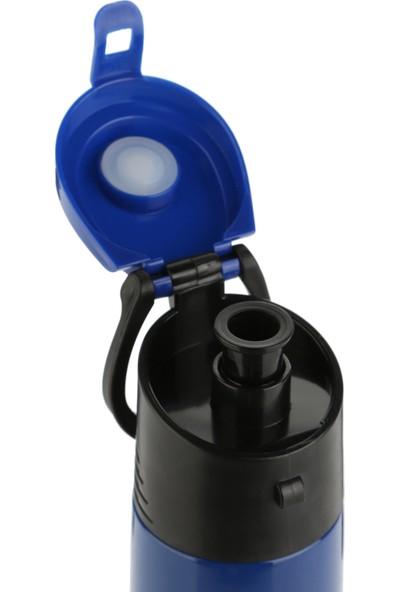 Joystar 500 ml Çift Cidarlı Isı Yalıtımlı Kolay İçimli Mavi Termos