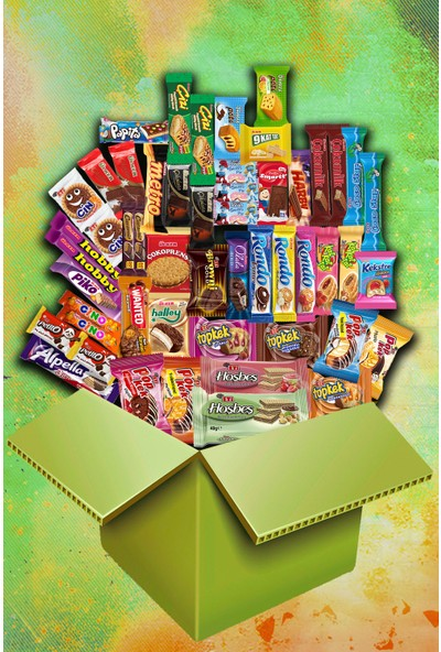 Ülker Sen ve Ben Sevgi Çikolata Kek Paketi - 51 Parça