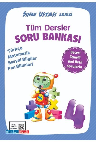Salan Yayınları 4. Sınıf Tüm Dersler Soru Bankası