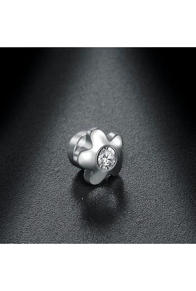 VipBT 3 Parça Mıknatıslı Çelik Küpe Manyetik Hızma Dil Piercing