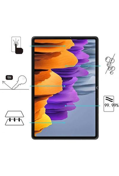 Tekno Grup Samsung Galaxy Tab S6 Lite (P610) Temperli Cam Ekran Koruyucu Şeffaf