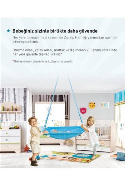 Holmen Heybeli Zıp Zıp Bebek Hamağı - Pembe