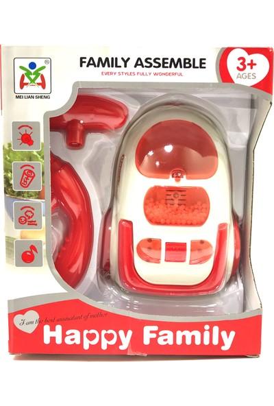 Acar Oyuncak Kırmızı Elektrikli Süpürge Makinası LS820K22
