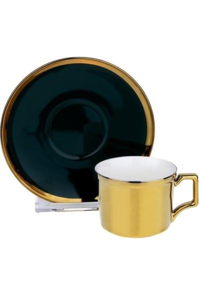 Lucky Art Quınn Bone Serısı 6lı Kahve Setı