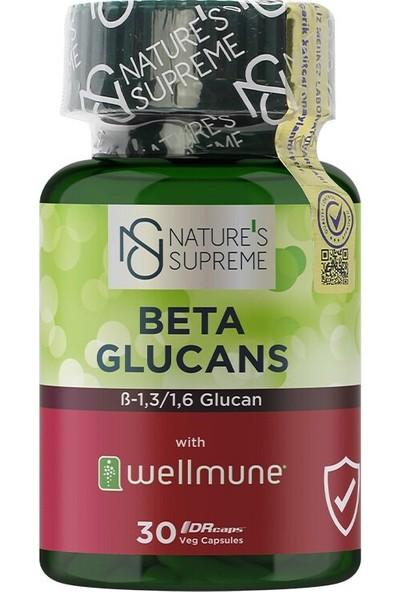 Nature's Supreme Beta Glucans 30 Kapsül