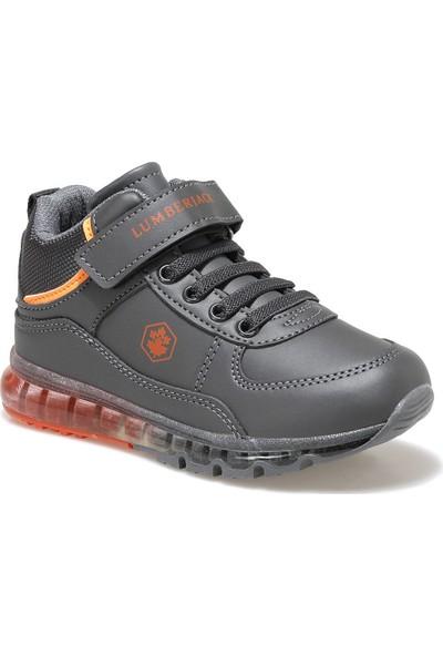 Lumberjack CAP HI 9PR Koyu Gri Erkek Çocuk Sneaker Ayakkabı