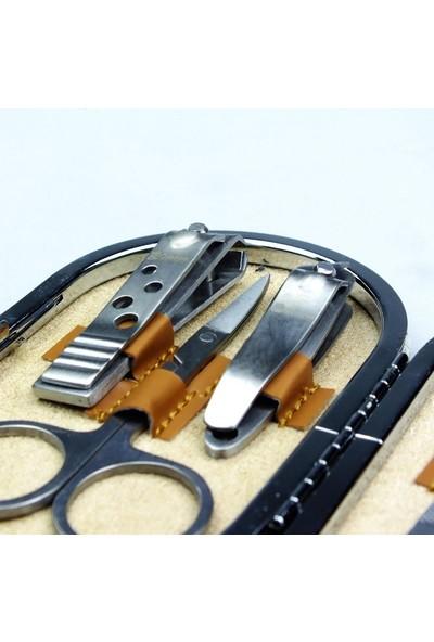Demirel Profesyonel 7 Parça Manikür Pedikür Seti Tırnak Bakımı