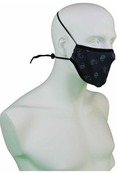 İpeks Yıkanabilir Asmalı Maske Klasik-1