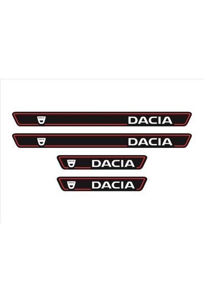 Ömr Dizayn Hediye Dacia Logolu 4'lü Kapı Eşiği Oto Aksesuar