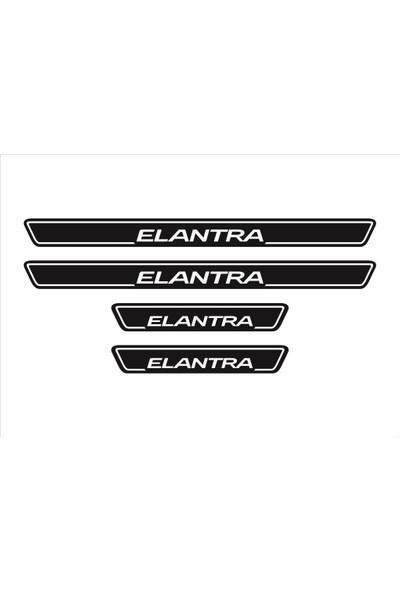 Ömr Dizayn Hediye Elantra 4'lü Kapı Eşiği Oto Aksesuar