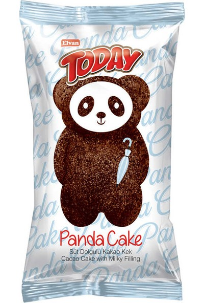 Elvan Today Panda Kek 45 gr 24'lü