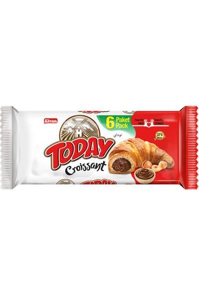 Elvan Today Kruvasan Çikolatalı 45 gr 6'lı