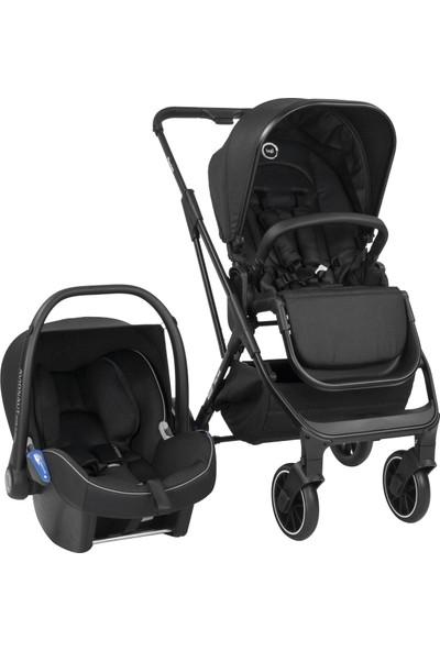 Bagi Flexfold Travel Sistem Bebek Arabası Carbon Black