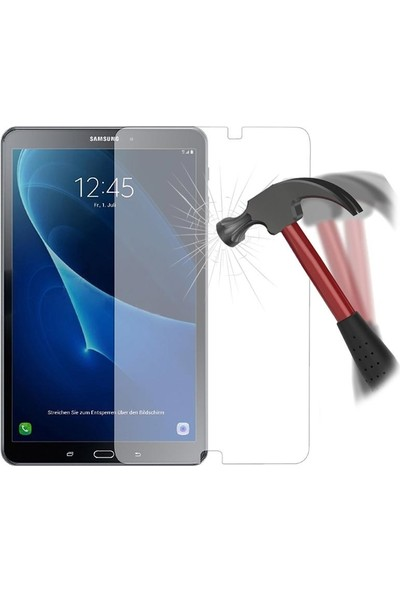 EssLeena Samsung Galaxy Tab A Sm-T510/T515/T517 PowerPlus Tempered Crystal Kırılmaz Cam Nano 10.1 İnç