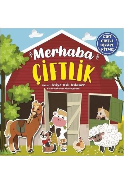 Sincap Kitap Cırt Cırtlı Hikaye Kitabı Seti Merhaba Duygularım ve Merhaba Çiftlik