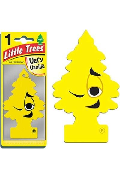 Car Freshner Little Trees Very Vanilla(Yüksek Vanilya Esanslı )Oto Kokusu