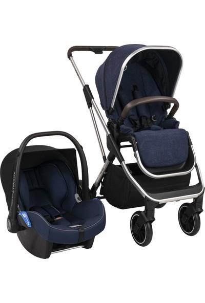 Bagi Flexfold Travel Sistem Bebek Arabası Royal Blue