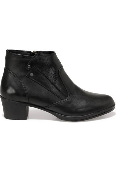 Polaris 5 Nokta 92.101077.Z Siyah Kadın Comfort Ayakkabı