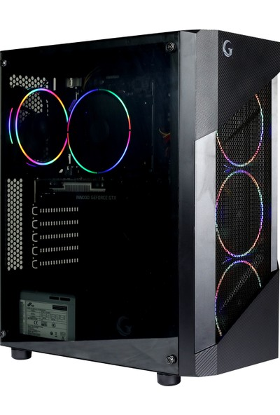 Game Garaj Pollux 3TN-B C04 Intel Core i3 9100F 8GB 240GB SSD GTX 1050Ti Freedos Masaüstü Bilgisayar