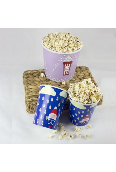 Zucci Zuccihome Popcorn Kovası 3'lü Set - Mavi