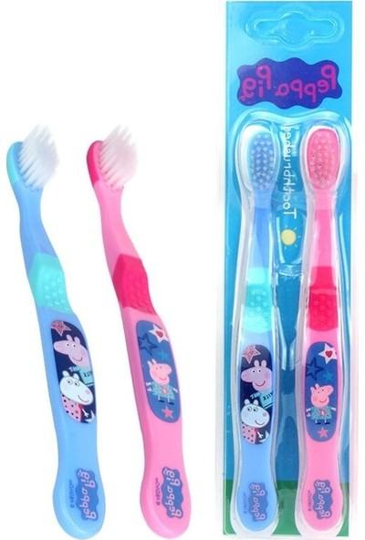 Peppa Pig 3-12 Yaş Arası Diş Fırçası 2'li