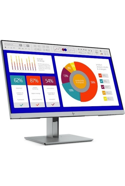 "HP Elite Display E243P 23.8"" 60Hz 14ms (HDMI+VGA) Full HD LED Monitör 5FT13AS"