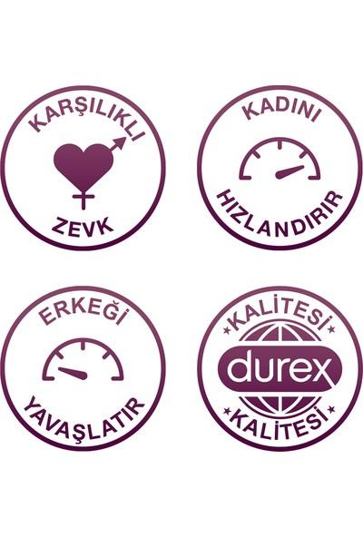 Durex Karşılıklı Zevk 20'li Prezervatif + Durex Little Devil Titreşimli Halka