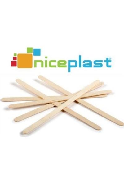 Niceplast Ahşap (Bambu) Çay Kahve Karıştırıcı 750'LI