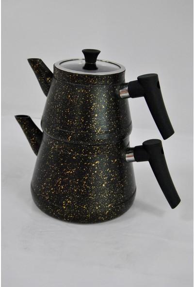 Pamir Home Ern Granit Çaydanlık