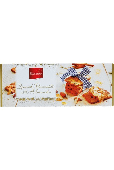 Favorina Spiced Biscuits With Almonds Bademli Bisküvi 300 gr