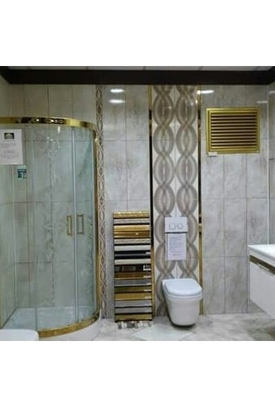 Panjur Dünyasi Alüminyum Altın Banyo Wc Havalandırma Panjur Menfez