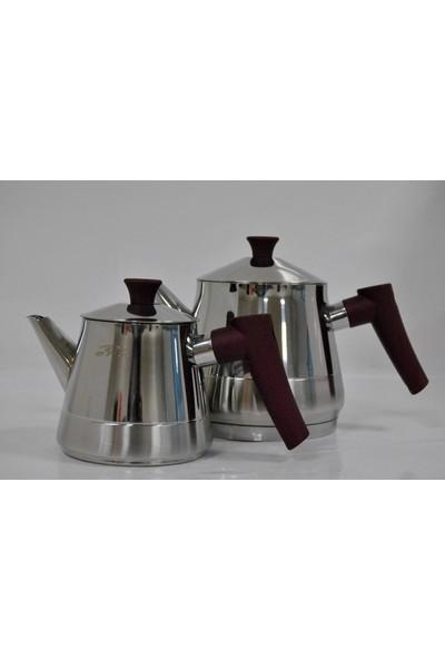 Pamir Home Ern Çelik Çaydanlık