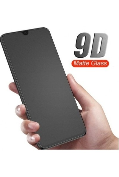 Telbor Oppo A5 2020 Parmak Mat Seramik Ekran Koruyucu (Nano) - Siyah