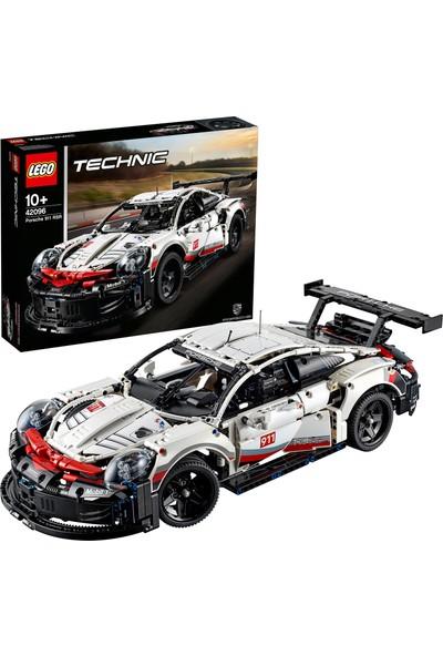LEGO Technic 42096 Porsche 911 RSR Yapım Kiti (1580 Parça) - Çocuk ve Yetişkin için Koleksiyonluk Oyuncak Araba