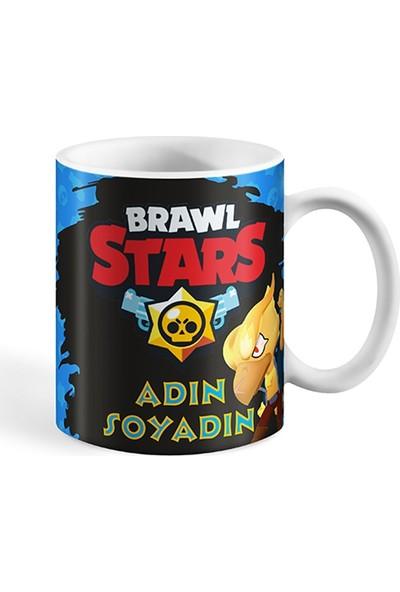 Bihediyeci Brawl Stars Crow Temalı Kupa Bardak