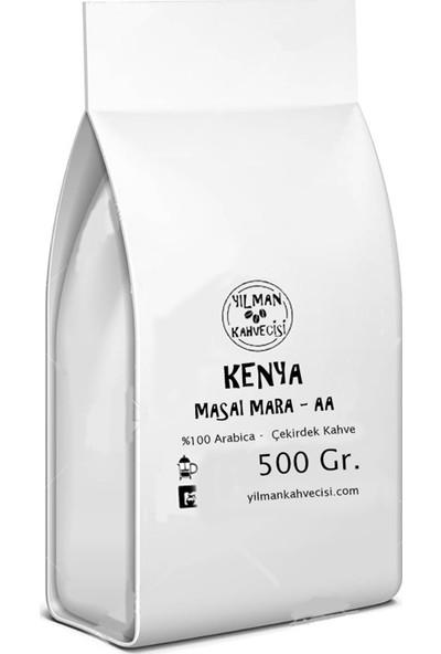 Yılman Kahvecisi Özel Seri Kenya Masai Mara Aa Arabica Filtre Kahve Çekirdek 500 gr